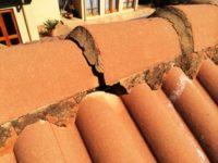 Damaged Roof Ridging