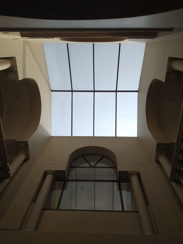 3 Arch's and a Skylight - Universal Roofing
