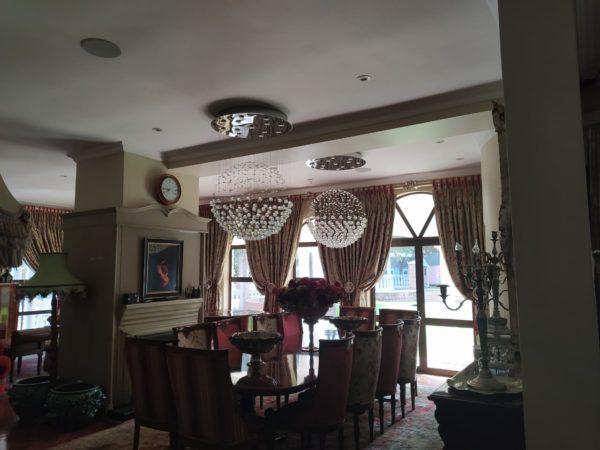 Interior Dining Area - Ceiling