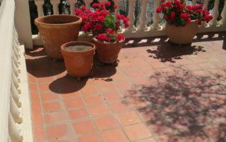 Universal Roofing - Balcony Waterproofing - Before